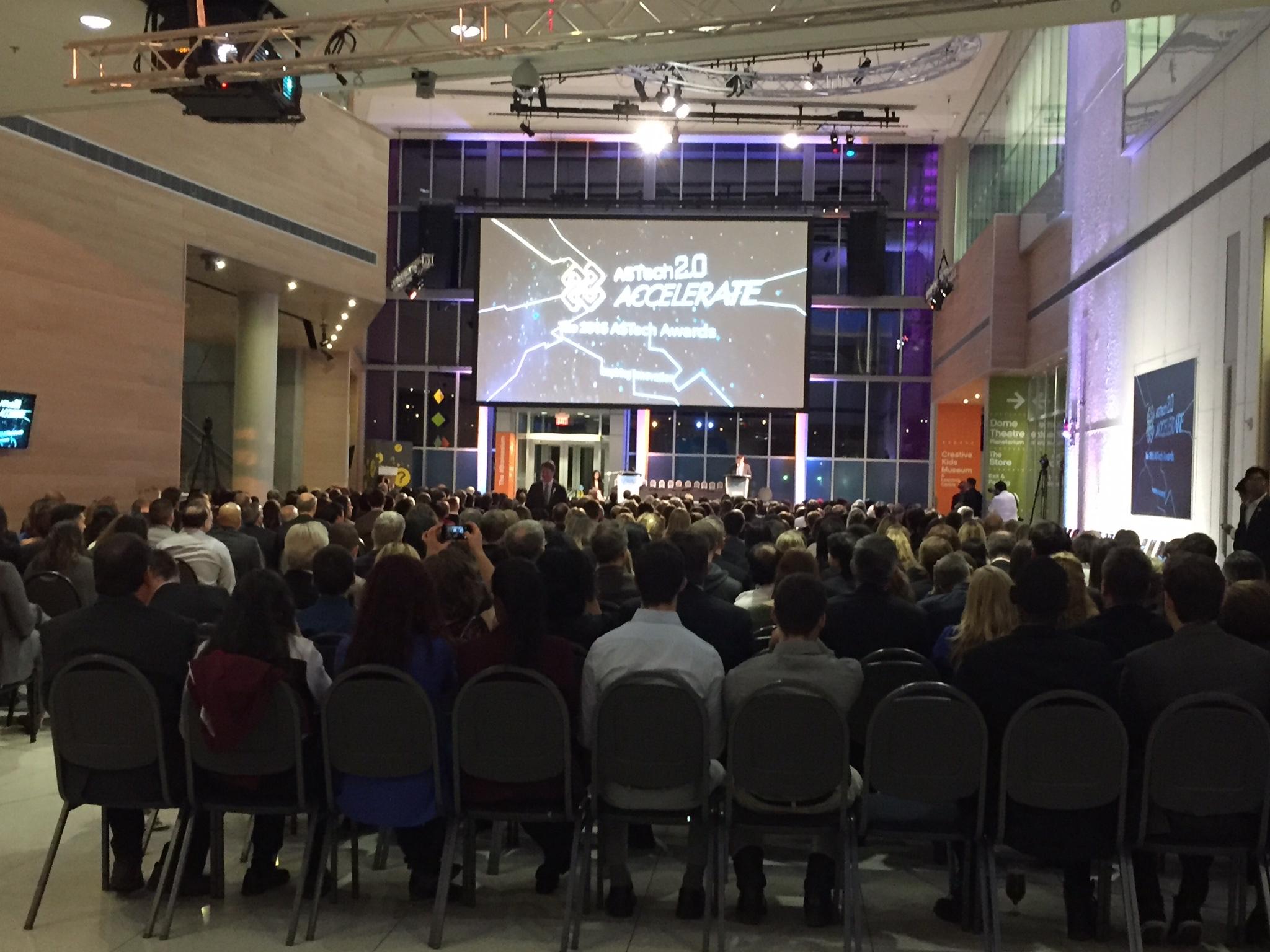 ASTech 2015 Awards Gala at TELUS Spark in Calgary on November 6th, 2015
