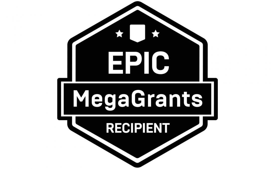 LINDSAY receives Epic MegaGrant