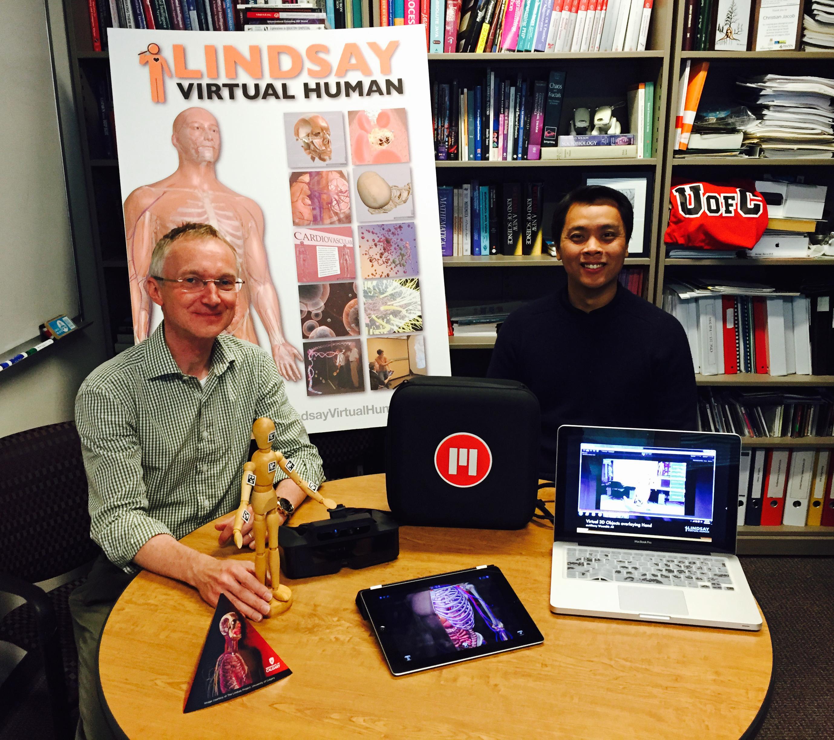 LINDSAY Virtual Human: anARtomy - Jacob and Santoso